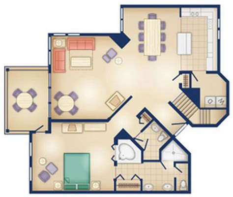 old key west two bedroom villa floor plan old key west
