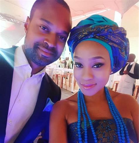 kgomotso christopher and husband kgomotso christopher on her long distance marriage