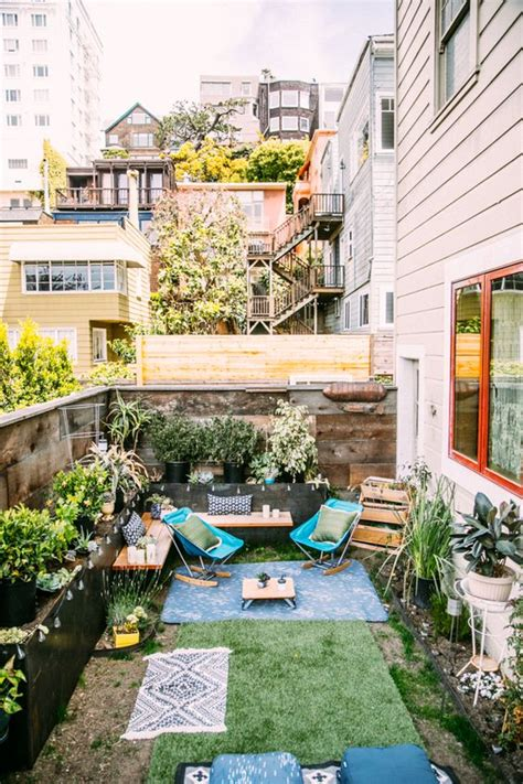 how to turn your backyard into an oasis the great indoors gardens backyards and balconies