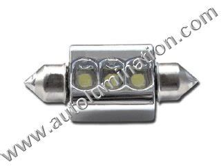 Lu Led Osram 9 Watt festoon dome courtesy license plate led bulbs lights