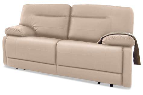 2er sofa mit relaxfunktion furntrade 2er sofa niko mit relax creme mit federkern