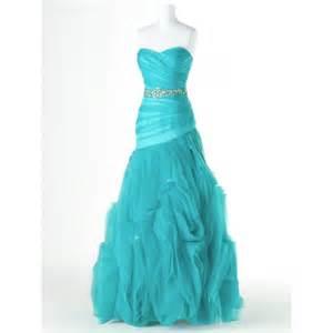 Dress dropped sweetheart organza cascading lace up long prom dress