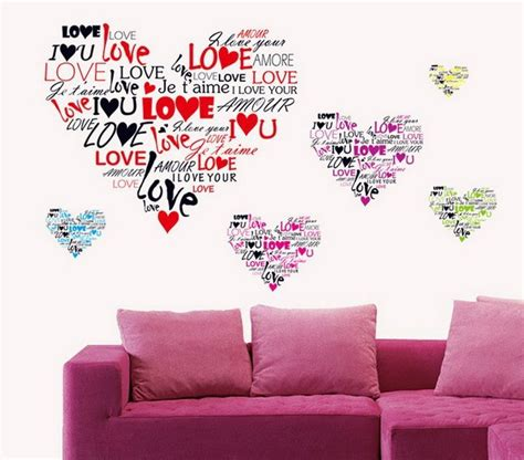 Sticker Wallpaper I Loved You multi language i you wall sticker 7124 removable wall decal vinyl diy home decor