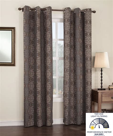 brown thermal curtains com sun zero ravi thermal lined energy efficient