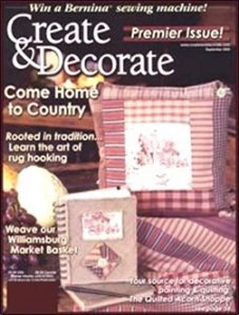Create And Decorate Magazine Back Issues by Craftworks Magazine Best Subscription Deal On For Create And Decorate Magazine Formerly