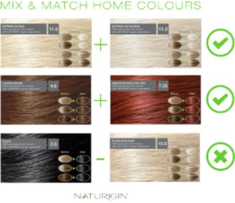 how to mix hair color mixing hair color shades by wahlin naturigin