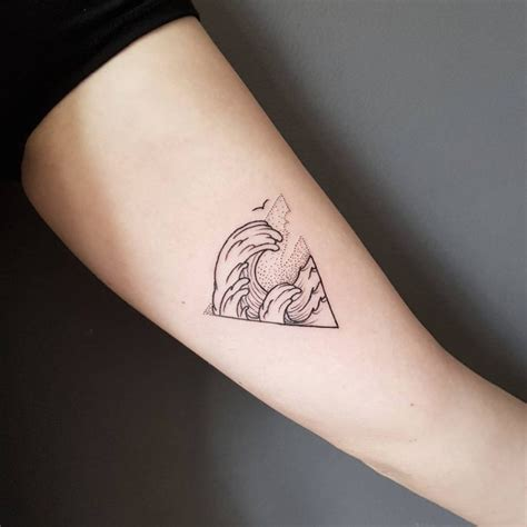 65 best triangle tattoo designs amp meanings sacred