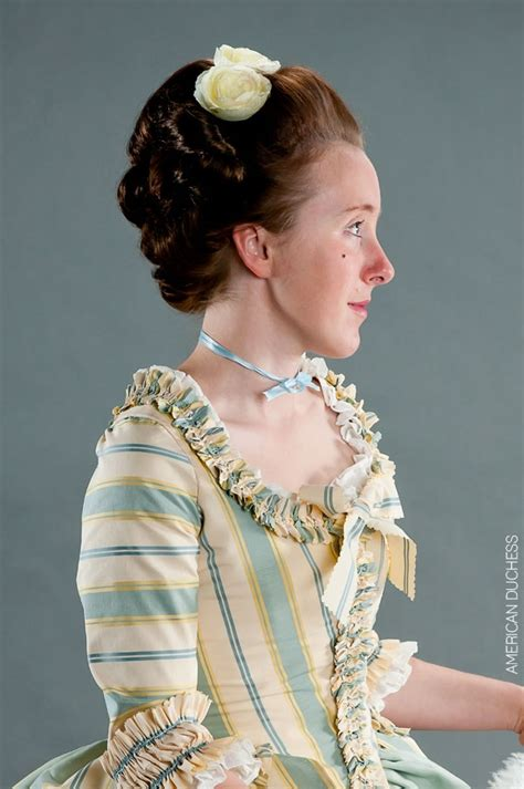 colonial hairstyles for women tutorial 17 best images about 18th century hairstyles on pinterest