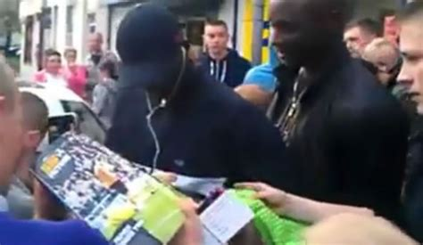 cheap haircuts newcastle video papiss ciss 233 mobbed by newcastle fans after getting