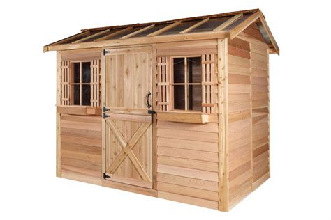 cedarshed hobbyhouse  shed hh  shipping