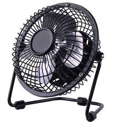 usb plug in fan plug and play usb ventilator 360 rotate metal mini fan