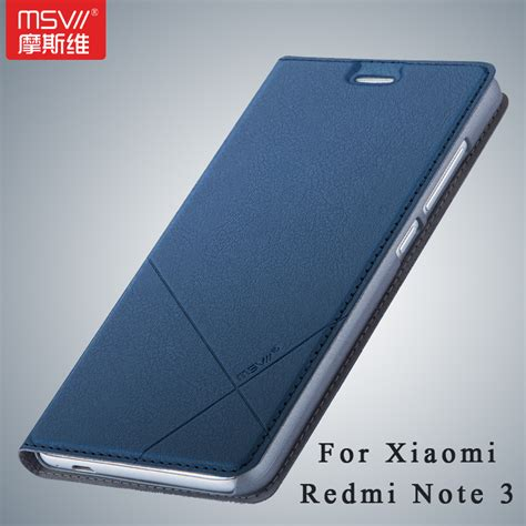 Flip Cover Xiomi Redmi Not msvii brand xiaomi redmi note 3 xiomi wallet leather for xiaomi redmi note 3 pro prime