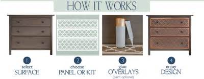 Overlays For Ikea Furniture by O Verlays Decorative Fretwork Panels