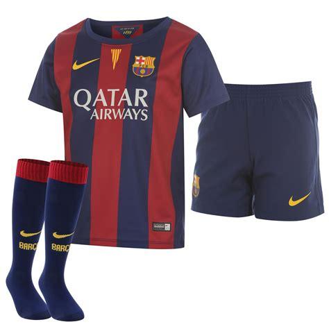 barcelona home kit nike nike fc barcelona home kit 2014 2015 mini la liga