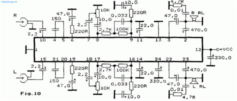An7106k стерео комбинированный усилитель для плеера на an7106k