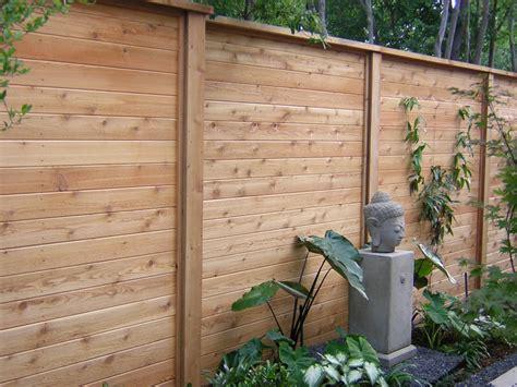 Horizontal Wood Fence Design Horizontal Wood And Metal Fence Homeszu Home Ideas Galleries Fence Pinterest