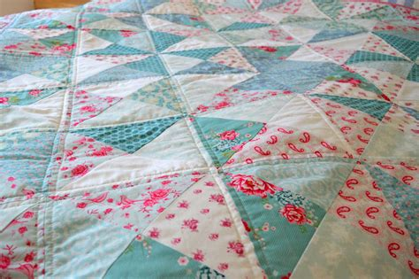 Quilt And Co by Holm Sown Pinwheel Quilt In Tilda Fabric