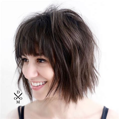 edgy hairstyles in your 40s edgy bob haircuts with bangs haircuts models ideas