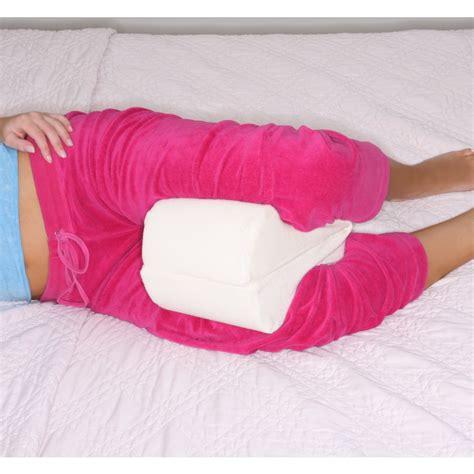 Side Sleeper Leg Pillow by Leg Wedge Pillow Memory Foam Contour Leg Pillow That