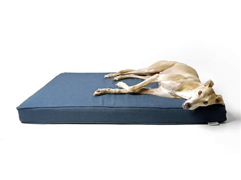 dog memory foam bed whippet snippets the grwe big memory foam dog bed by