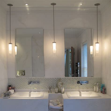 how to light a bathroom penne bathroom halogen pendant light john cullen lighting