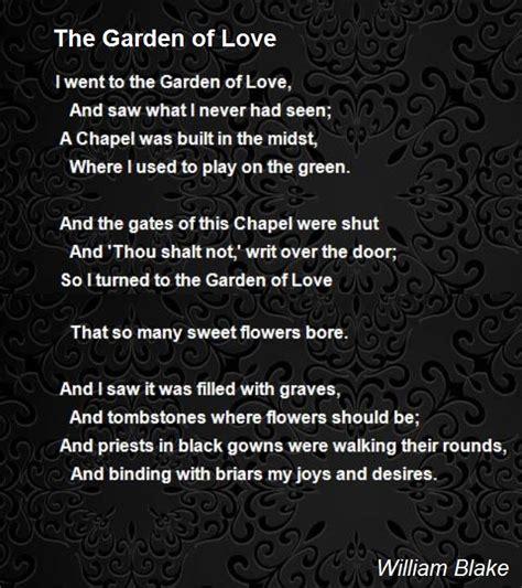 The Garden Analysis by The Garden Of Poem By William Poem