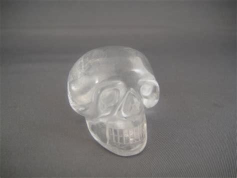 Honey Quartz 006 small skulls