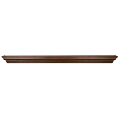 Lowes Fireplace Mantel Shelf by Shop Allen Roth 72 0625 In Stain Grade Whitewood