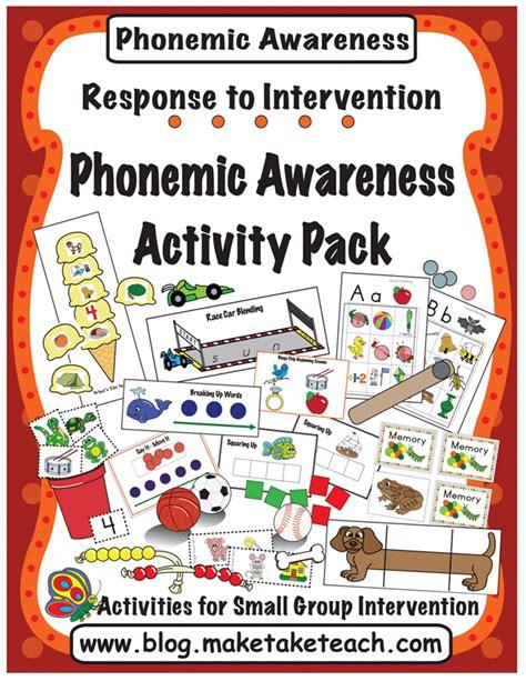 kindergarten activities phonemic awareness 15 activities designed for teaching isolating sounds
