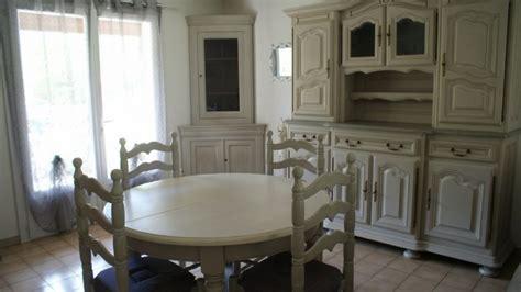 salle 224 manger rustique relook 233 e peinte et patin 233 e 224