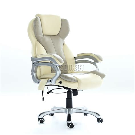 reclining computer chairs foxhunter luxury 6 point massage office computer chair