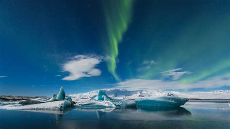 iceland northern lights winter winter highlights 5 days 4 nights guided tours