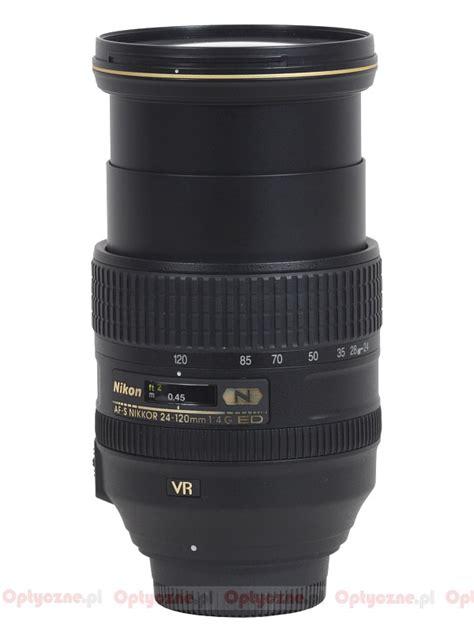 Nikon Af S 24 120mm F 4g Ed Vr White Box lenstip lens review lenses reviews lens specification lenstip