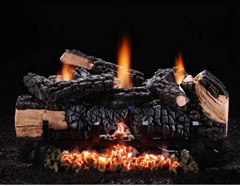Gas Fireplace Logs And Accessories by 18 Quot Cumberland Char Vent Free Log Set Gas