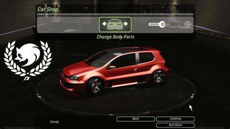 Volkswagen Gti W12 by Need For Speed Underground 2 Volkswagen Vw Golf Gti W12