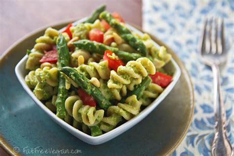 fat free vegan pasta salad recipe pesto primavera pasta and other fresh basil recipes