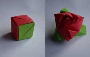 Origami Magic Cube - origami magic cube origami other crafts