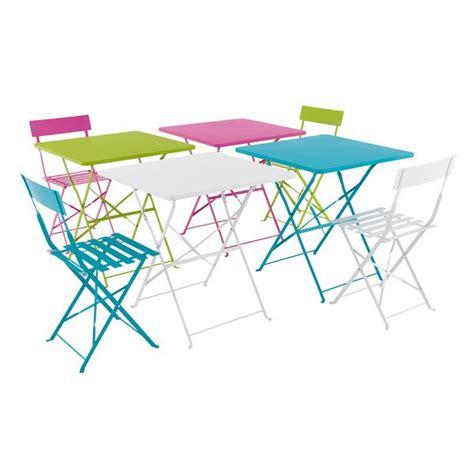 tables et chaises pop fly maison