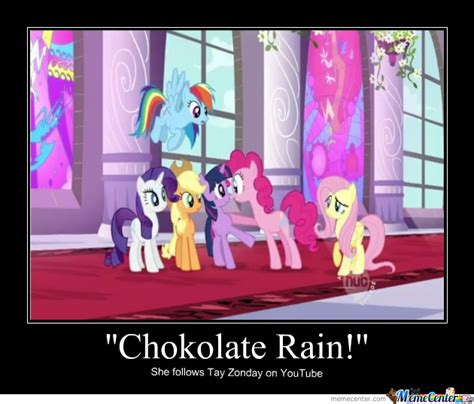Chocolate Rain Meme - eternal chaos means chocolate rain by arcanine4ever