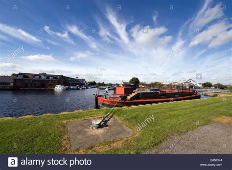 ferry boat wakefield stanley ferry at wakefield west yorkshire great britain