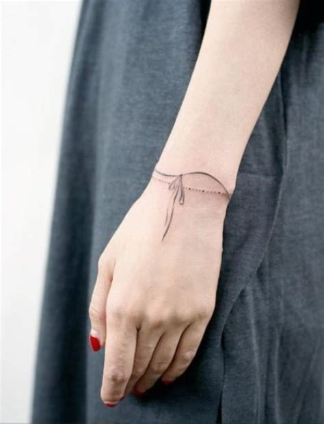 Picture Of wrist tattoo idea