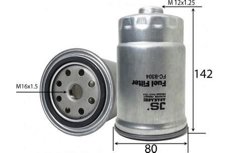 Filter Fuel Hyundai Trajet All 90000 Fc9304 Fuel Filter Hyundai Accent Rb D4fb 4cyl 1 6l Diesel