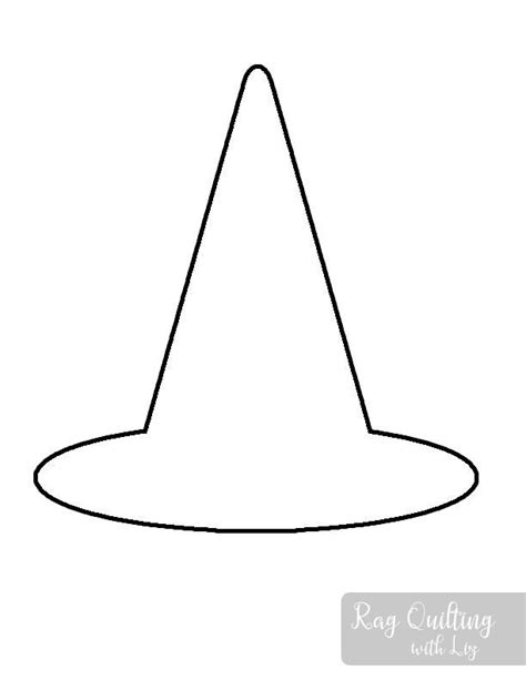 paper witch hat template witch hat template gallery template design ideas
