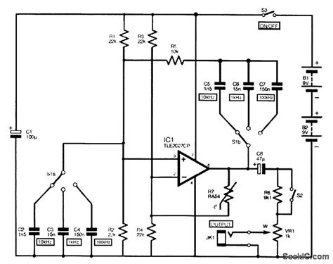 audio oscillator integrated circuit audio oscillator integrated circuit 28 images how to design a square or triangle wave
