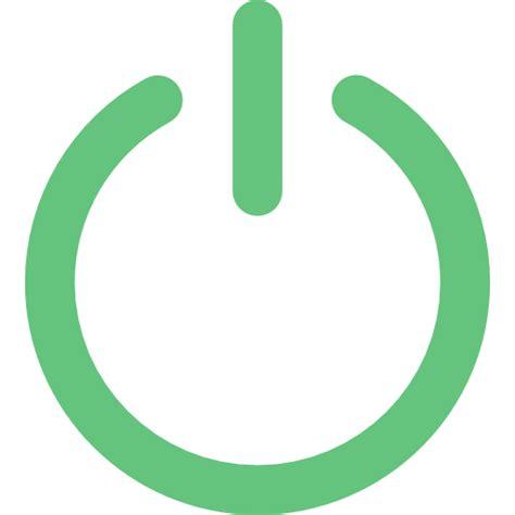 start icon svg power on multimedia option start button ui technology