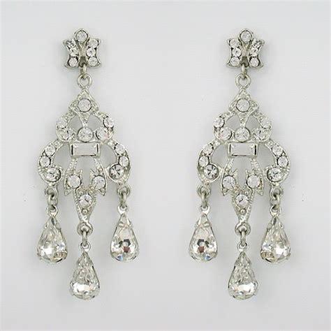 Ok Wedding Gallery Bridal Chandelier Earrings Bridal Chandelier Earrings Bridal