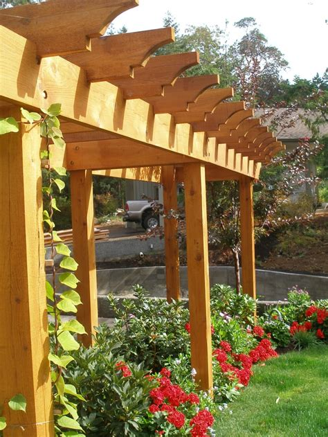63 Best Images About Exterior Home Ideas On Pinterest Cedar Pergola Designs