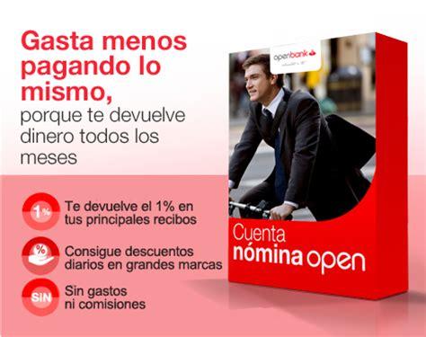 oficinas openbank cuenta nomina openbank