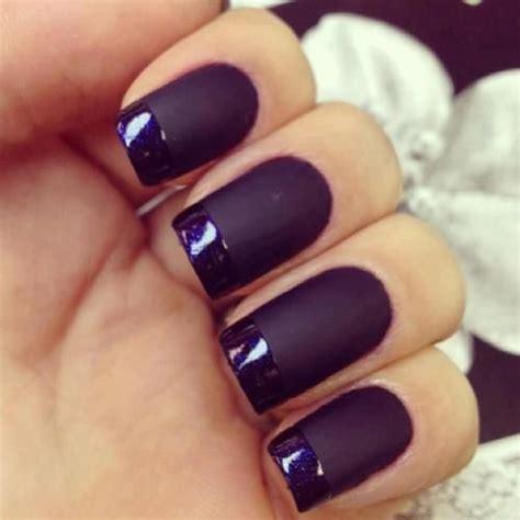 dark nail colors for over 50 manucures de style fran 231 ais manucure and violet fonc 233 on