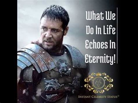 what we do in life echoes in eternity tattoo instant status what we do in echoes in